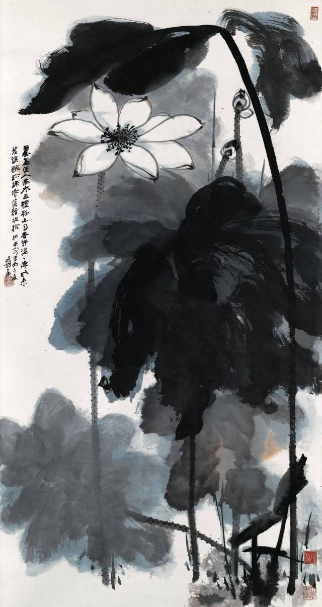 张大千:一辈子画不厌的荷花