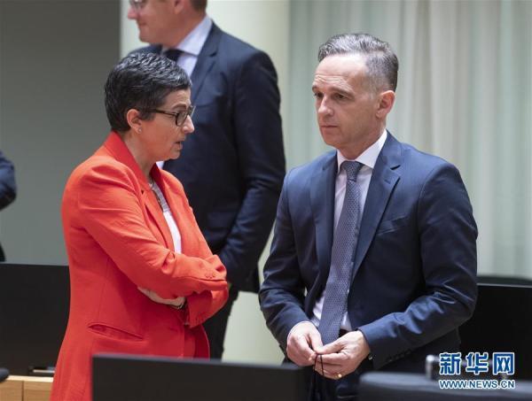 欧盟外长理事会会议在布鲁塞尔举行