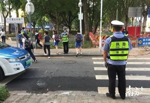 深圳发布暑假交通安全预警,学生交通违法将通报学校