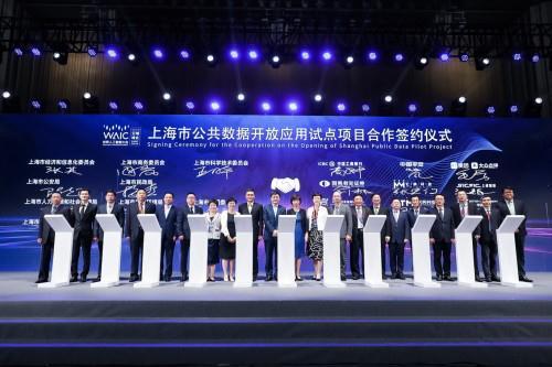 上海市公共数据开放试点项目有哪