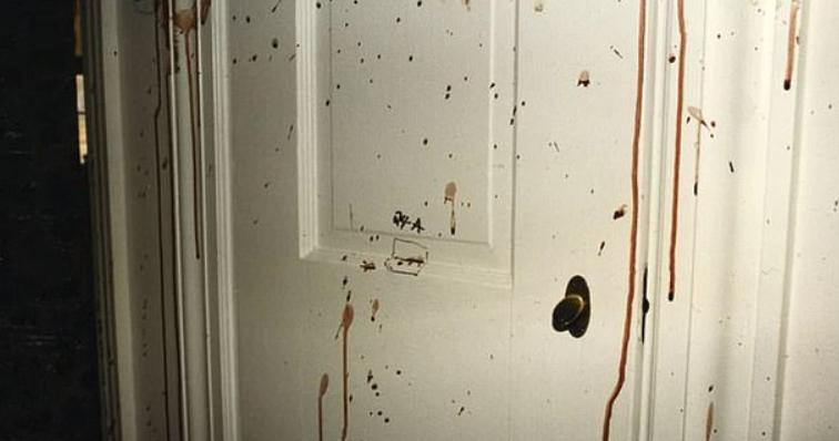 (图为当时的犯罪现场,图片来自当地警方)