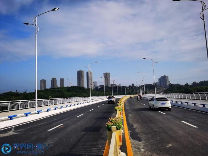 完善城市路网方便市民出行 潼南区安康街全线贯通两片区路程只需5分钟