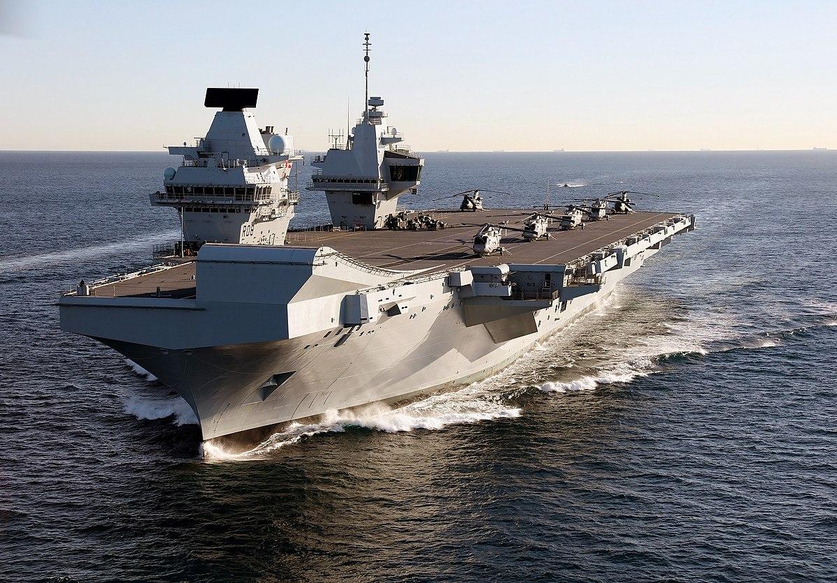 """英国也要派航母来东亚""""拱火"""""""