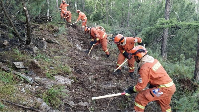 内蒙古大兴安岭21起雷电森林火灾全部合围扑灭