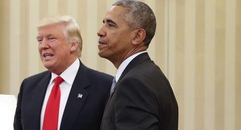 特朗普为打高尔夫辩护:奥巴马比我能打