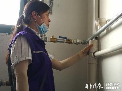 文汇街道荟萃社区:巡查暖气管线,排除大隐患