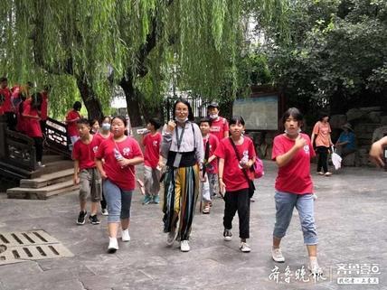 导游一闲5个月,济南一旅行社迎来首个研学游旅行团