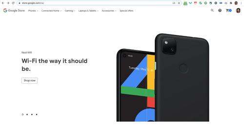 谷歌商店偷跑Pixel 4a,挖孔屏+后置指纹实锤了