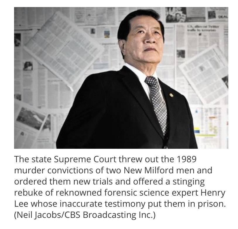 国际观察 神探李昌钰遭美媒质疑:不准证词致两男子坐30年冤狱?