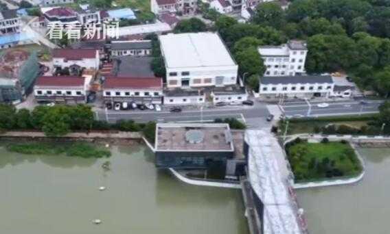 视频|江苏:汛情仍然严峻 多地开闸泄洪保安全图片