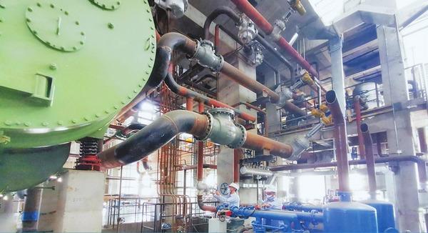富华锦河生物质发电项目安装设备