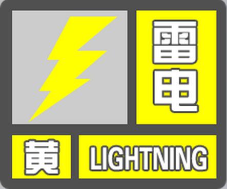 刚刚!泉州市气象台变更发布雷电黄色预警信号