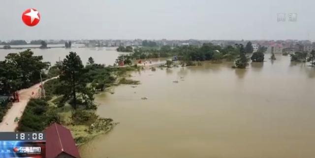 杏悦西鄱阳80米杏悦决口合龙桂湖村周边图片