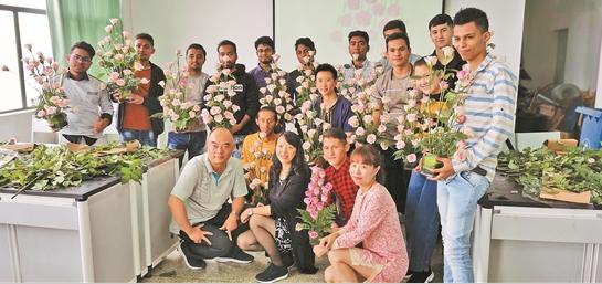 昆明第二届面向南亚东南亚国际技能人才专项培训举办