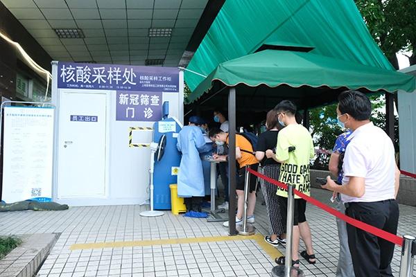 上海首台户外核酸采样工作柜启用,配备空调将安装紫外线灯