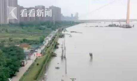 杏悦|湖北武汉杏悦长江洪峰已过退图片