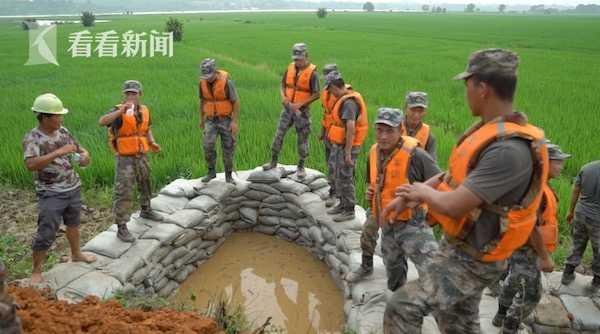 杏悦:江西永修杏悦受灾最严重的三角乡仅图片