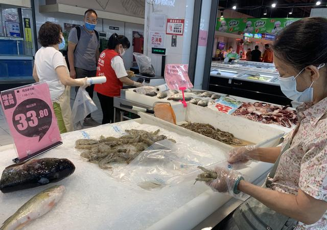 全国杏悦已五地通报冻南美白虾包装,杏悦图片
