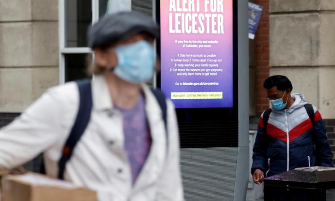 英国频现局部疫情 市长斥英政府信息缺失:本可避免封锁