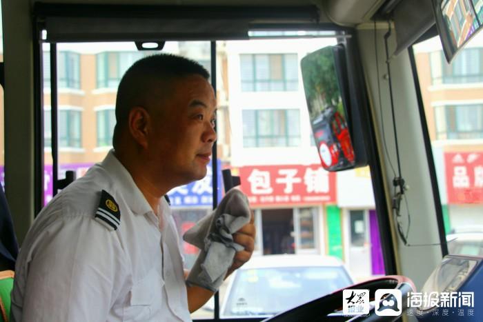 高温下的坚守|公交司机:坚守岗位保障出行