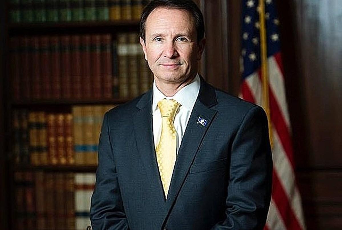 兰德利14日确诊感染新冠肺炎,但仍反对州长要求佩戴口罩的行政令 图自:路易斯安娜州检察长办公室