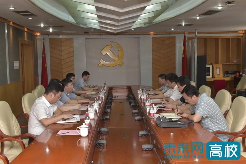 安徽省数据资源管理局领导到访合肥工业大学
