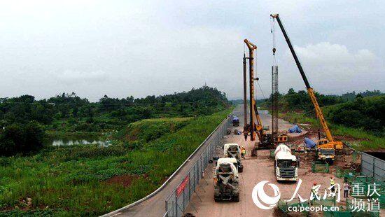 铜梁:加快推进市域快线璧铜段节点工程建设