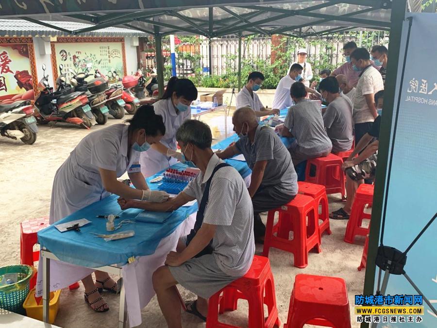 自治区退役军人医院在上思县为退役军人等优抚对象开展巡诊服务活动