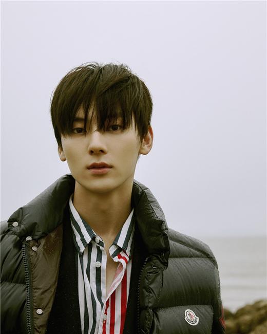"NU&dotEST黄旼炫作为韩国代表 参与""Moncler Voices""品牌活动"
