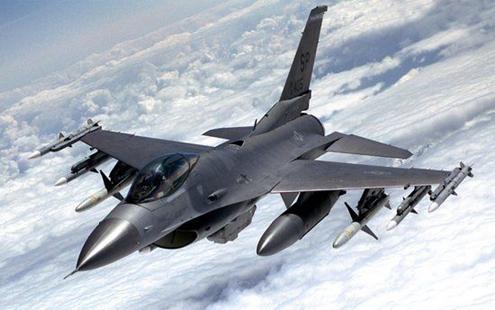 资料图:美国空军F-16C战斗机