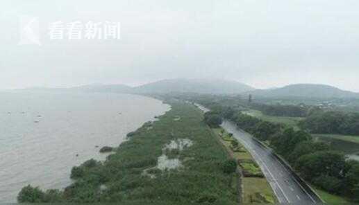 [蓝冠]视频|太湖洪水蓝冠红色预警7月1图片