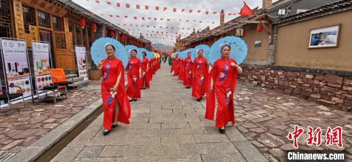 宋家沟村成为全国乡村旅游重点村。 张云 摄