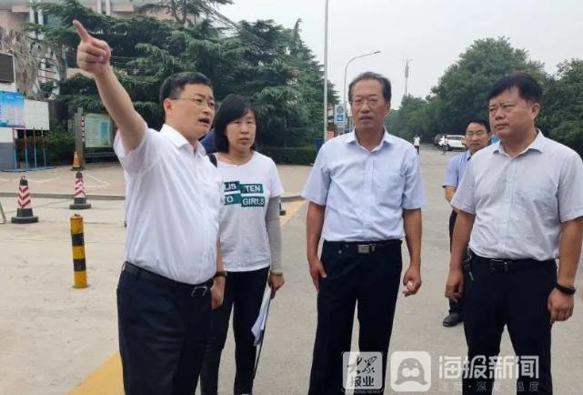 """市长现场督办!淄博被曝光的""""学府路"""",1个月内修好"""