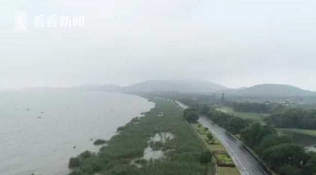 视频|太湖超保证水位 外圈40多个水利枢纽开闸排水图片