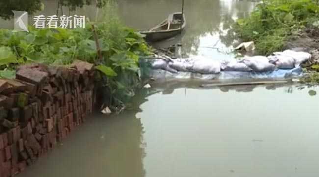杏悦,杭大运河秀洲段水位上涨杏悦部分街道被淹图片