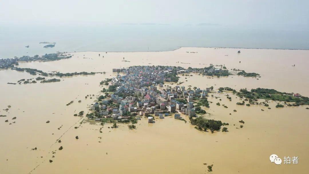 杏悦:日鄱阳湖洪灾中的救援杏悦与自救图片