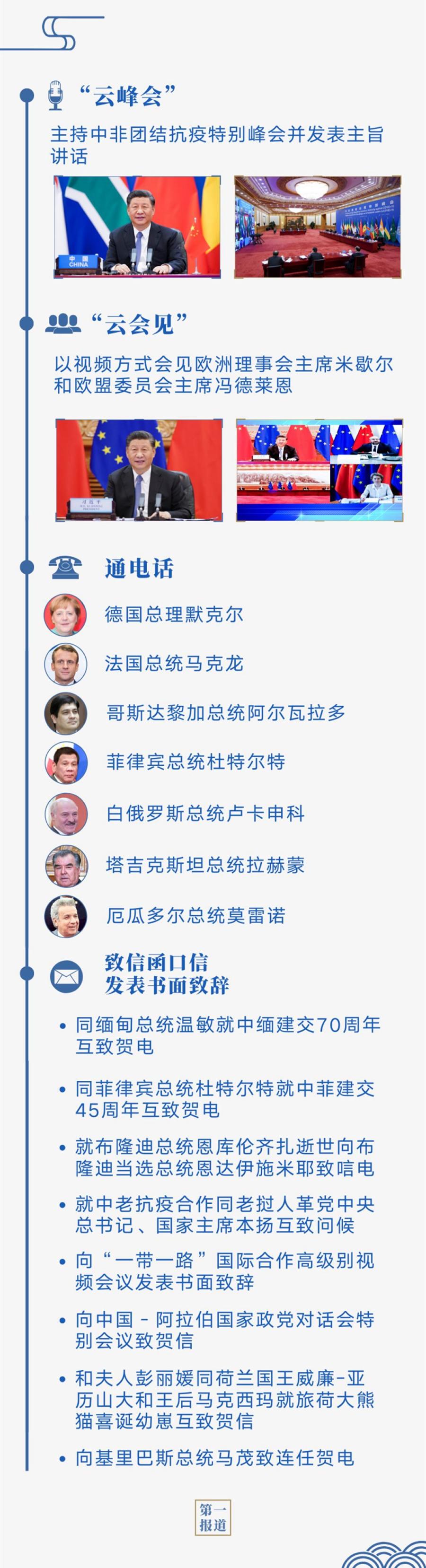 """今年6月 中国元首外交又一个""""繁忙月""""图片"""