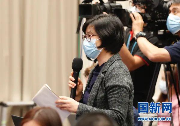 香港星岛日报记者提问(图源:国新网)