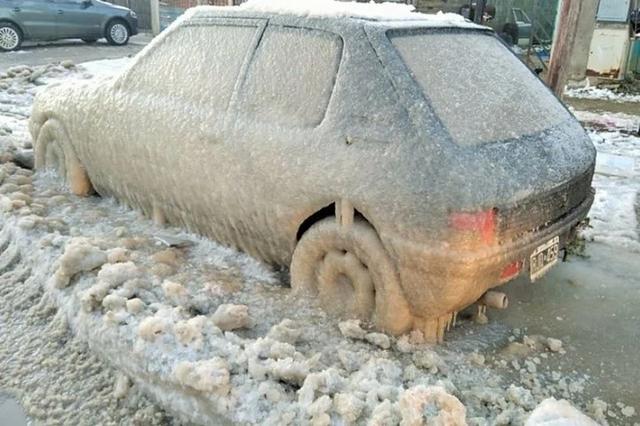阿根廷火地岛遭遇寒流 最低气温降至-14.9℃