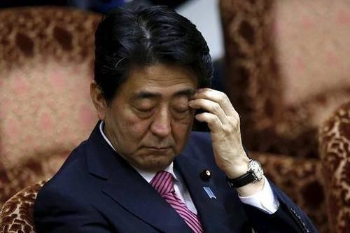 安倍去年收入超3868万日元,日本国会议员收入下滑