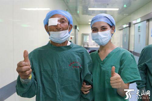 """山东省对口支援""""喀什光明行""""活动启动 200名白内障患者重见光明"""
