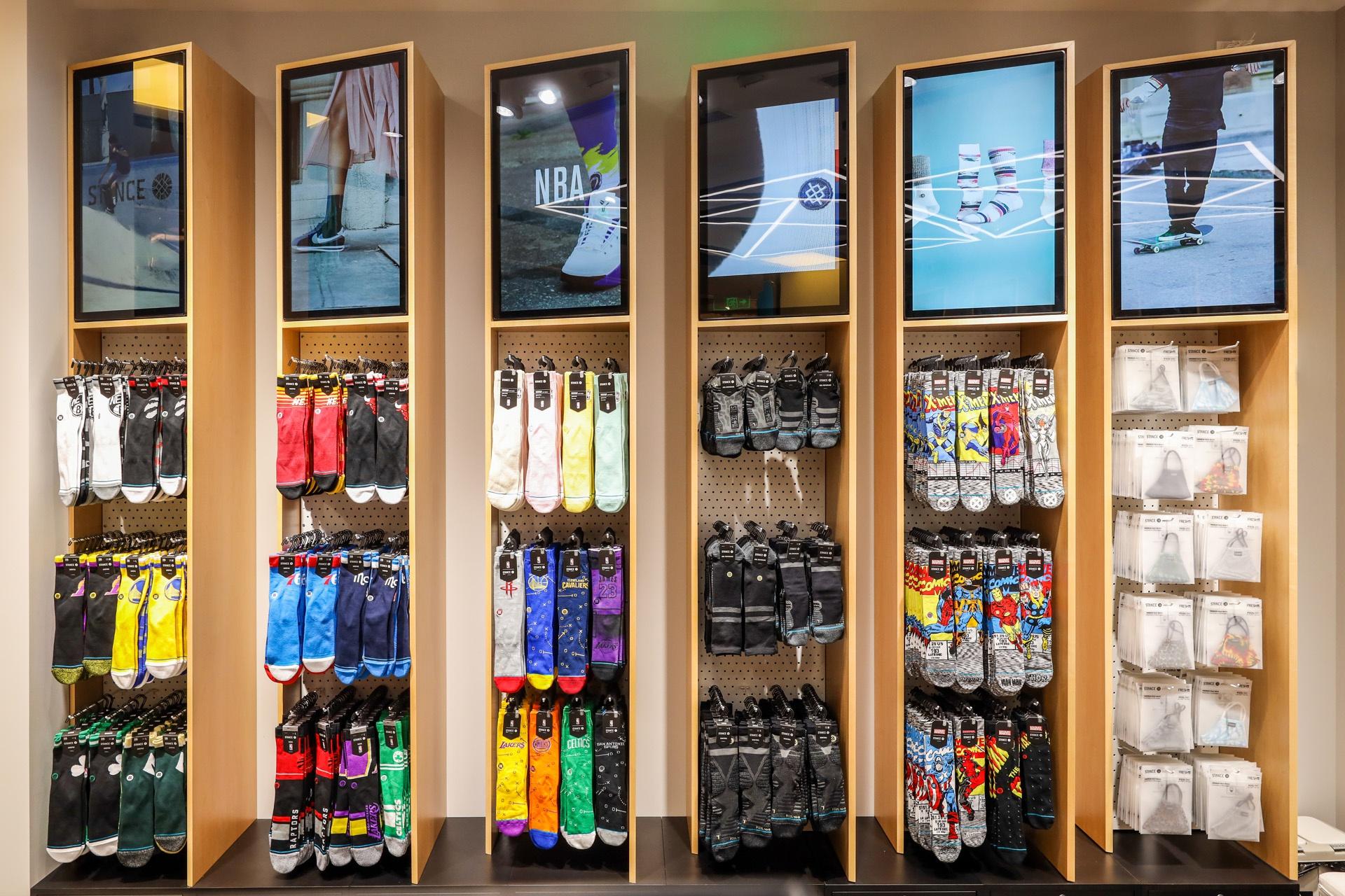 STANCE首家品牌体验店登陆上海港汇恒隆广场袜子潮流可以更精彩
