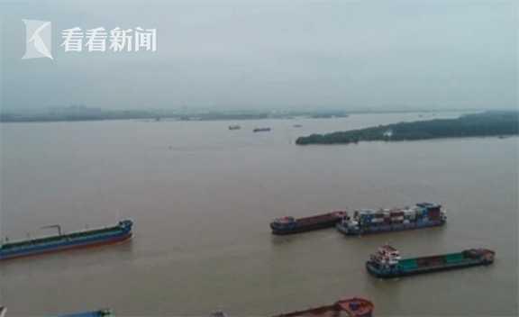 【杏悦】视频|长江南京段维持今年以来最高水位杏悦图片
