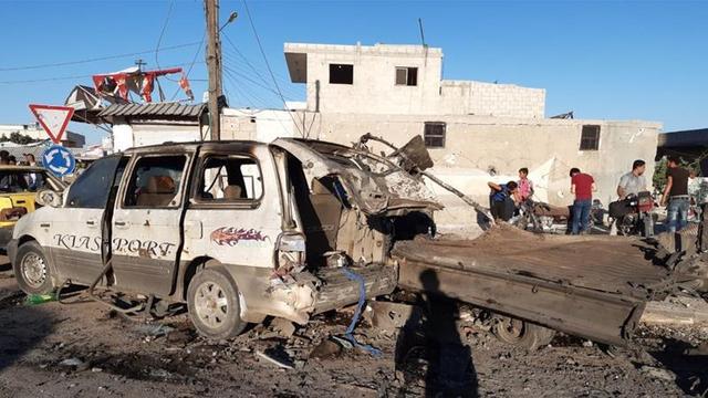 叙利亚北部反对派控制区发生爆炸 土耳其猜测与库尔德武装有关