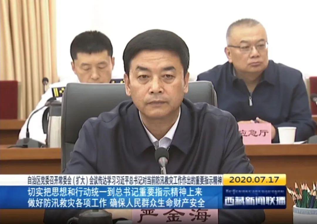 [杏悦]候补中央委员严金海已任西藏杏悦图片
