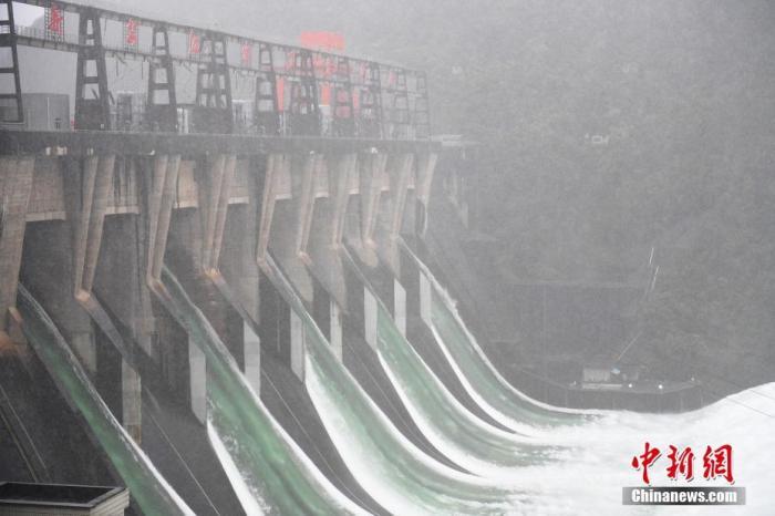 杏悦:上中游水库群作用杏悦明显流域防洪风险整体图片