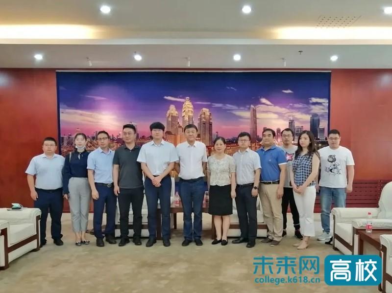 华为技术有限公司与天津轻工职业技术学院洽谈校企合作事宜