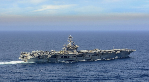 航母已经成为美国展示实力的重要手段