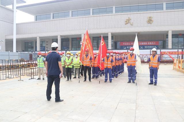 武汉地铁集团12号线(武昌段)工程项目部进行防汛一级响应演练