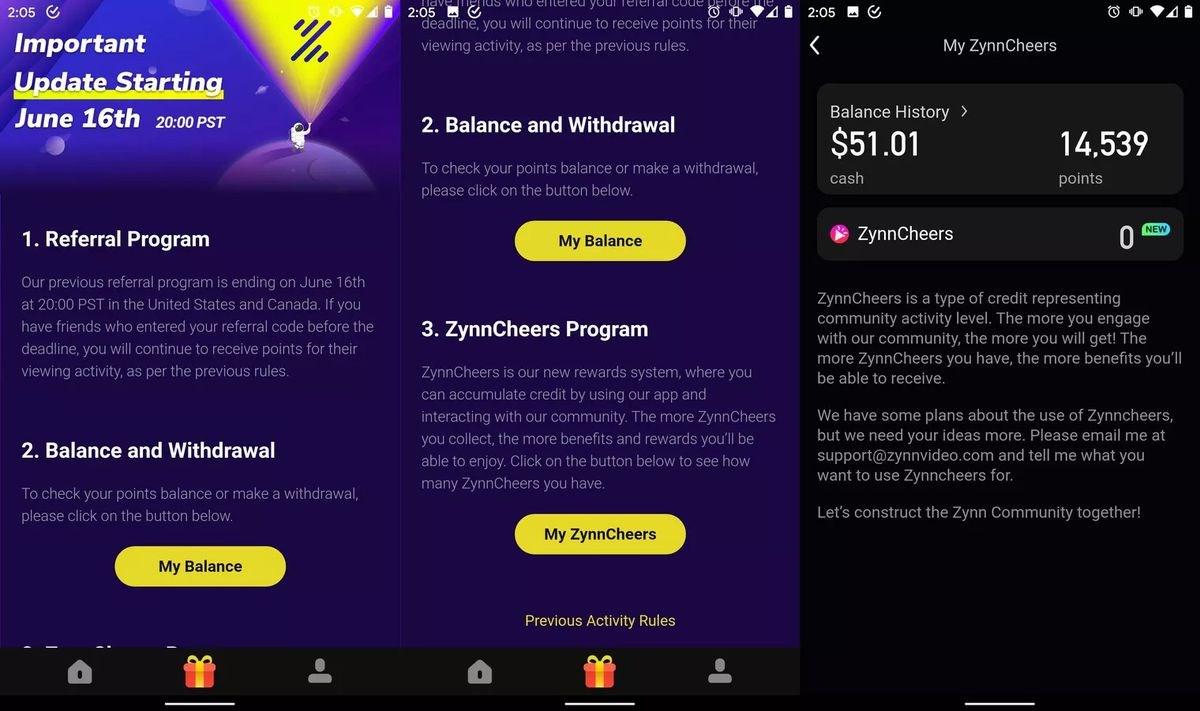 快手美国版 Zynn 重新上架:取消看视频赚钱功能